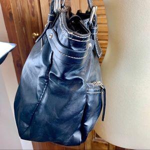 Franco Sarto Bags - FRANCO SARTO BLACK BAG